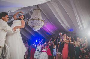 Ocean weddings party